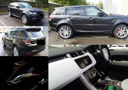 CAT 6 tracking system for Range Rover Sport