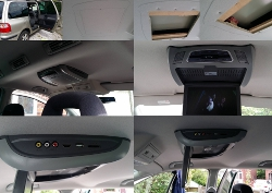 Roof Mounted DVD Player for my Car