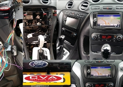Double Din Multimedia Installation in Ford mondeo