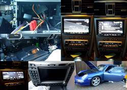 Multimedia Stereo for Porsche 911