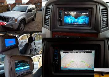 Multimedia Install in Jeep Cherokee.