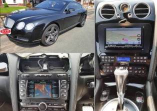 Stereo replacement for Bentley 2005.