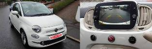 Reversing Camera for my Fiat 500